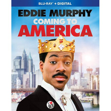 Coming to America Blu-ray + - Halloween Coming To America