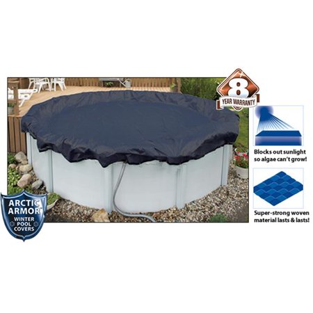 Arctic Armor WC700-4 8 Year 12' Round Above Ground Swimming Pool Winter Covers - image 4 of 4