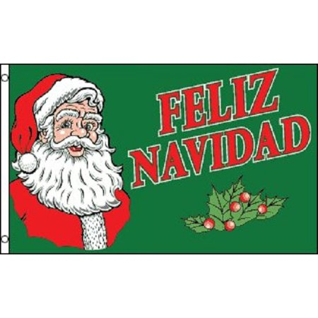 3x5 Feliz Navidad Christmas Holiday Decoration Banner Party Pennant
