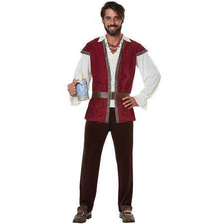 Medieval Man Adult Costume (Medieval Costumes For Children)