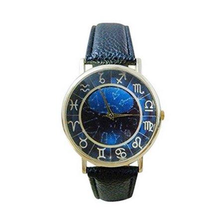 Man Woman Unisex Zodiac Fashion Style Watch 12 Symbols Zodiac Signs  Watch:151