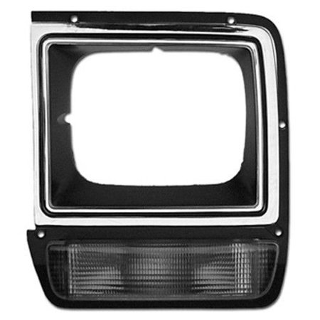 - NEW HEAD LAMP DOOR LEFT SIDE FITS 1986-1990 DODGE D150 4249813