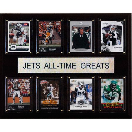 C i collectables nfl 12x15 new york jets all time greats for 12x15 calculator