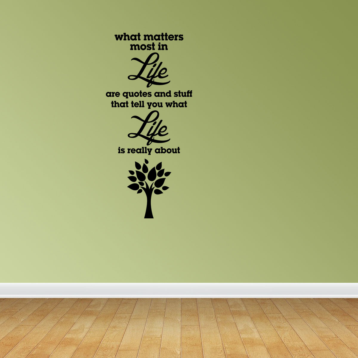Matters Most In Life Are Quotes Vinyl Wall Decals Life Quote