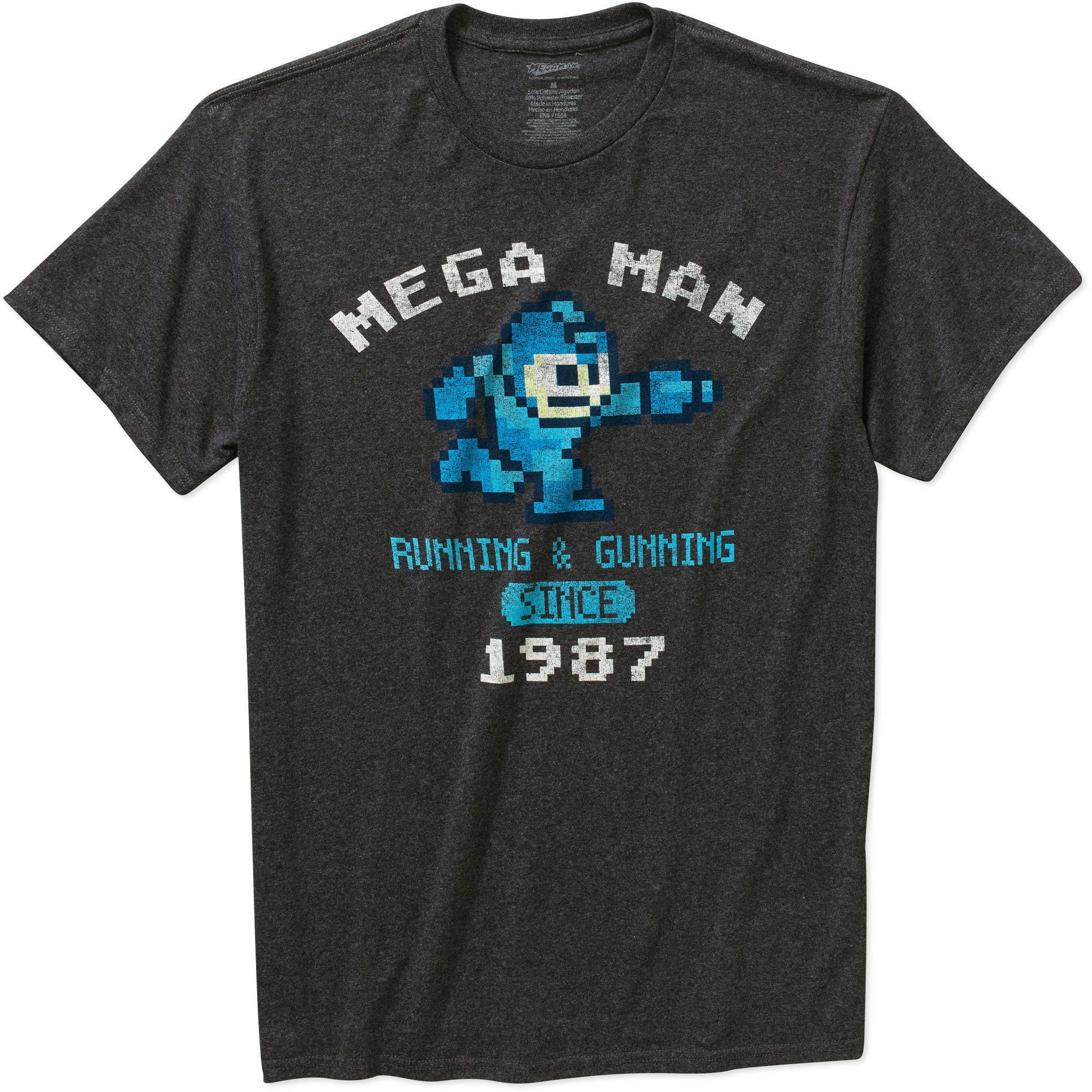 Capcom Mega Man Men's Graphic Short Sleeve T-Shirt