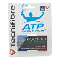 Pro Contact Tennis Overgrip 3 Pack Red White and Blue
