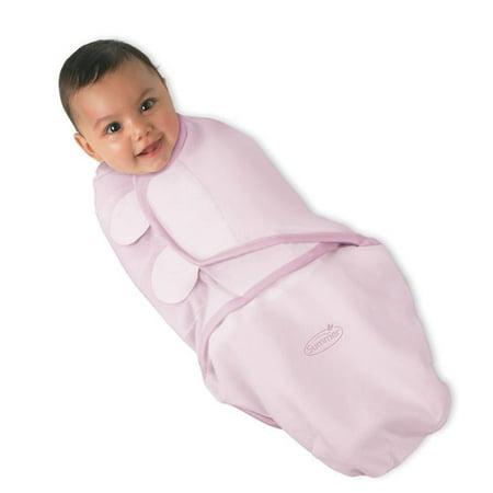Summer Infant Swaddleme Adjustable Baby Wrap Lg Pink Walmart Com