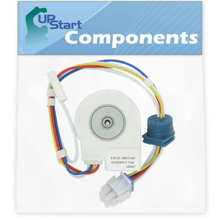 WR60X10074 Evaporator Fan Motor Replacement for General Electric ESH22XGPCBB Refrigerator - Compatible with WR60X10074 Evaporator Motor - UpStart Components Brand