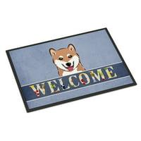 Shiba Inu Welcome Door Mat
