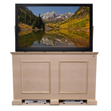 The Grand Elevate Unfinished TV Lift Cabinet for TVs - Up To 60 in. Flat Screen