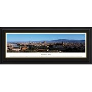 Florence, Italy - Blakeway Panoramas Print with Deluxe Frame and Double Mat