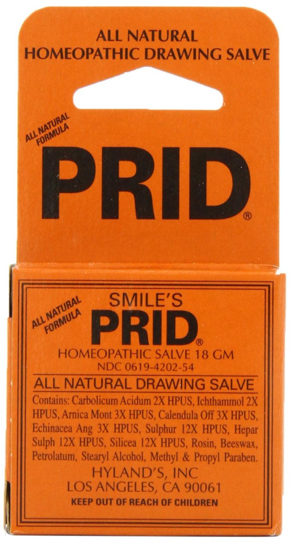 Smile/'s PRID Drawing Salve by Hyland/'s Relief of Topical Pain and Skin Irritati