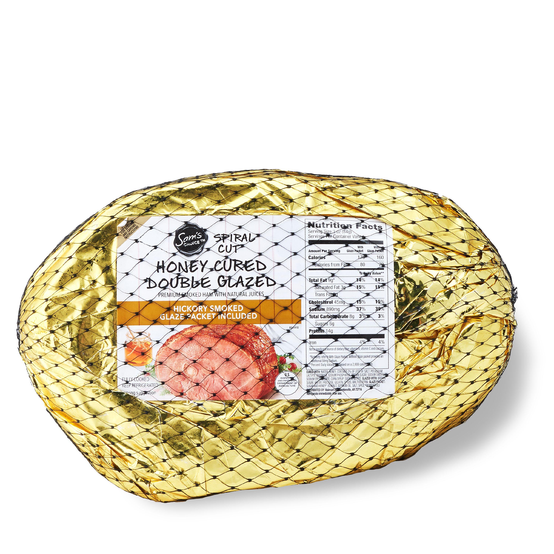 Sam's Choice Premium Spiral-Cut Bone-In Honey Ham, 7.50-11.75 lb