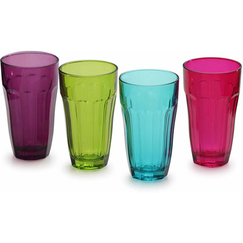Circleware Overture 4-Piece 12-Ounce Highball Set