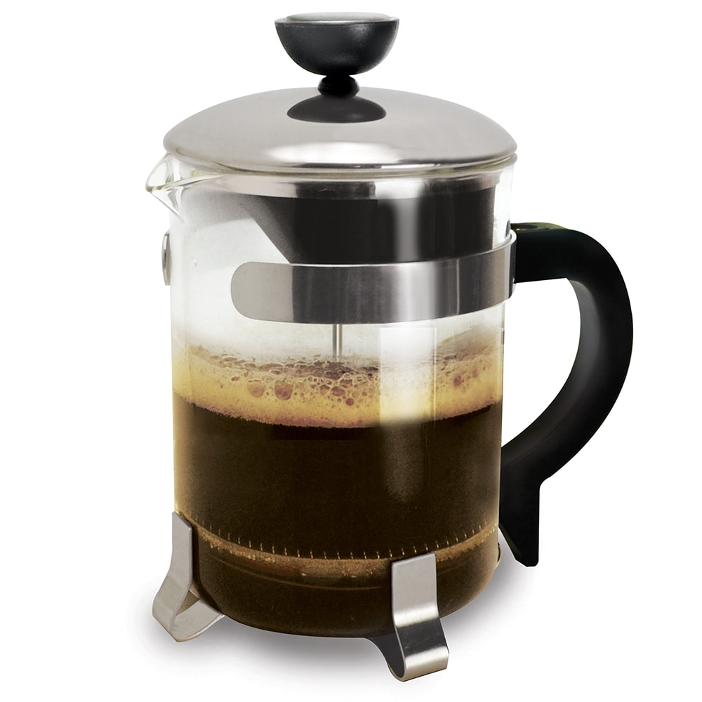 Epoca  Chrome 4-cup Coffee Press