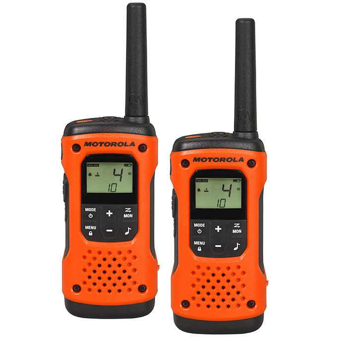 Motorola Talkabout T503 H20 Rechargeable 2-Way Radio (2 pack)
