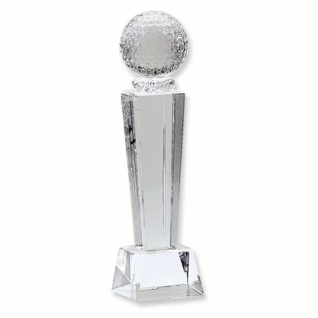 Crystal Golf Award Inspirational Trophy Office Golf Trophies And Awards