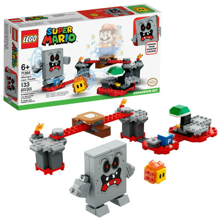 LEGO Super Mario Whomp's Lava Trouble Expansion Set 71364 Building Toy for Kids (133