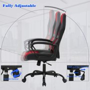 Ergonomic Office Chair Desk Chair PC Gaming Chair Rolling PU Leather Swivel Chair Executive Computer Chair Lumbar Support for Women, Men(Blue) - image 6 of 7