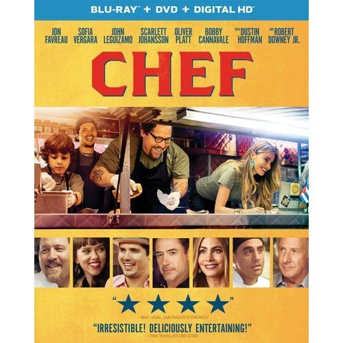 Chef (Blu-ray   DVD   Digital HD) (With INSTAWATCH) (Widescreen)