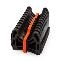 Camco Sidewinder 20ft RV Sewer Hose Support, Made From Sturdy Lightweight Plastic, Won't Creep Closed, Holds Hoses In Place - No Need For Straps (43051)