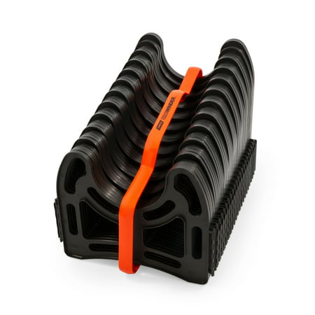 Camco Sidewinder 20ft RV Sewer Hose Support, Made From Sturdy Lightweight Plastic, Won