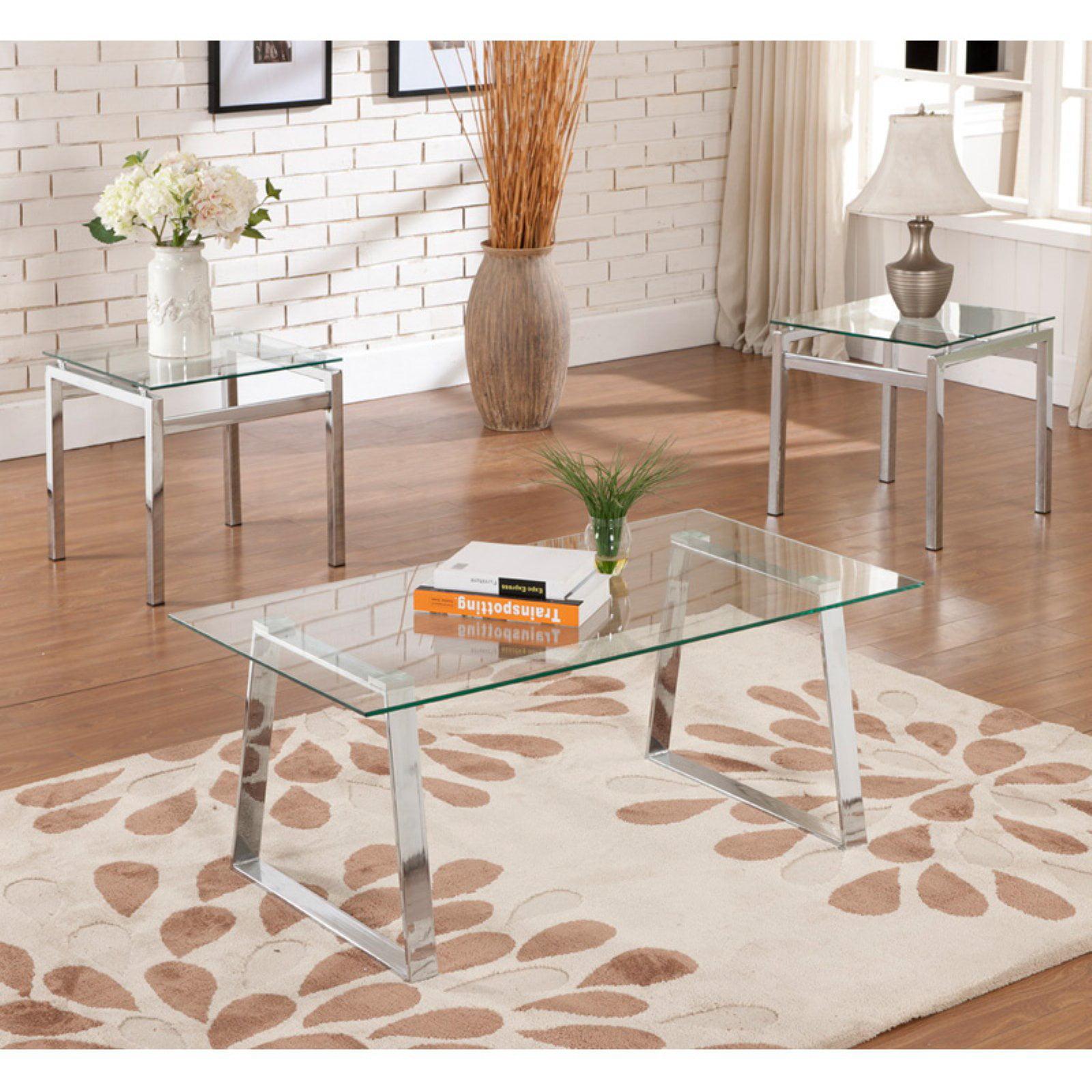 K & B Furniture T6197-C Coffee Table