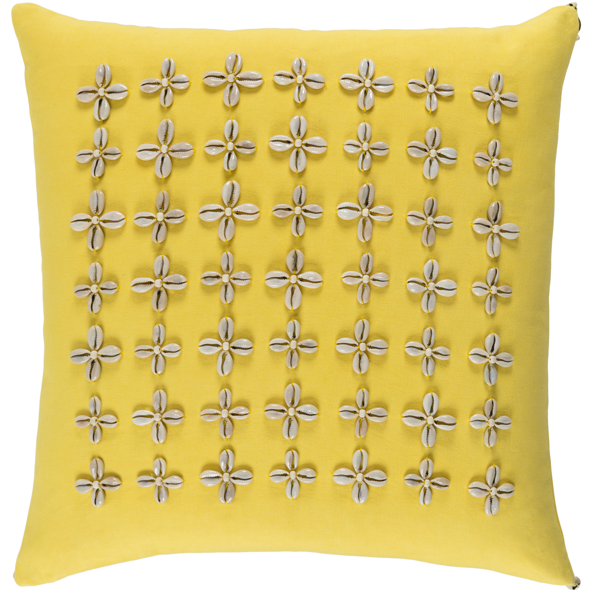 """Art of Knot Haralson 22"""" x 22"""" Pillow (with Down Fill)"""