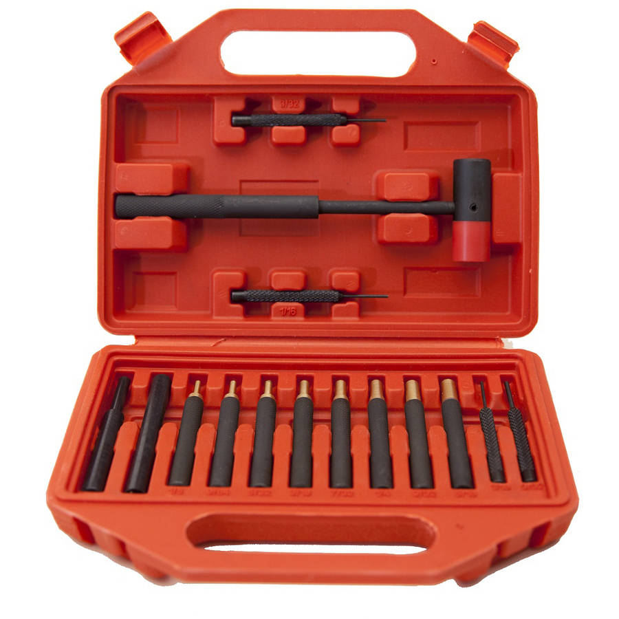 Winchester 15-Piece Brass/Steel Punch Set