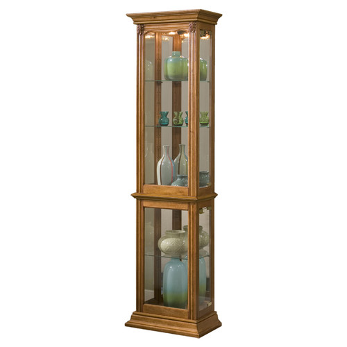 Charlton Home Maywood Curio Cabinet by