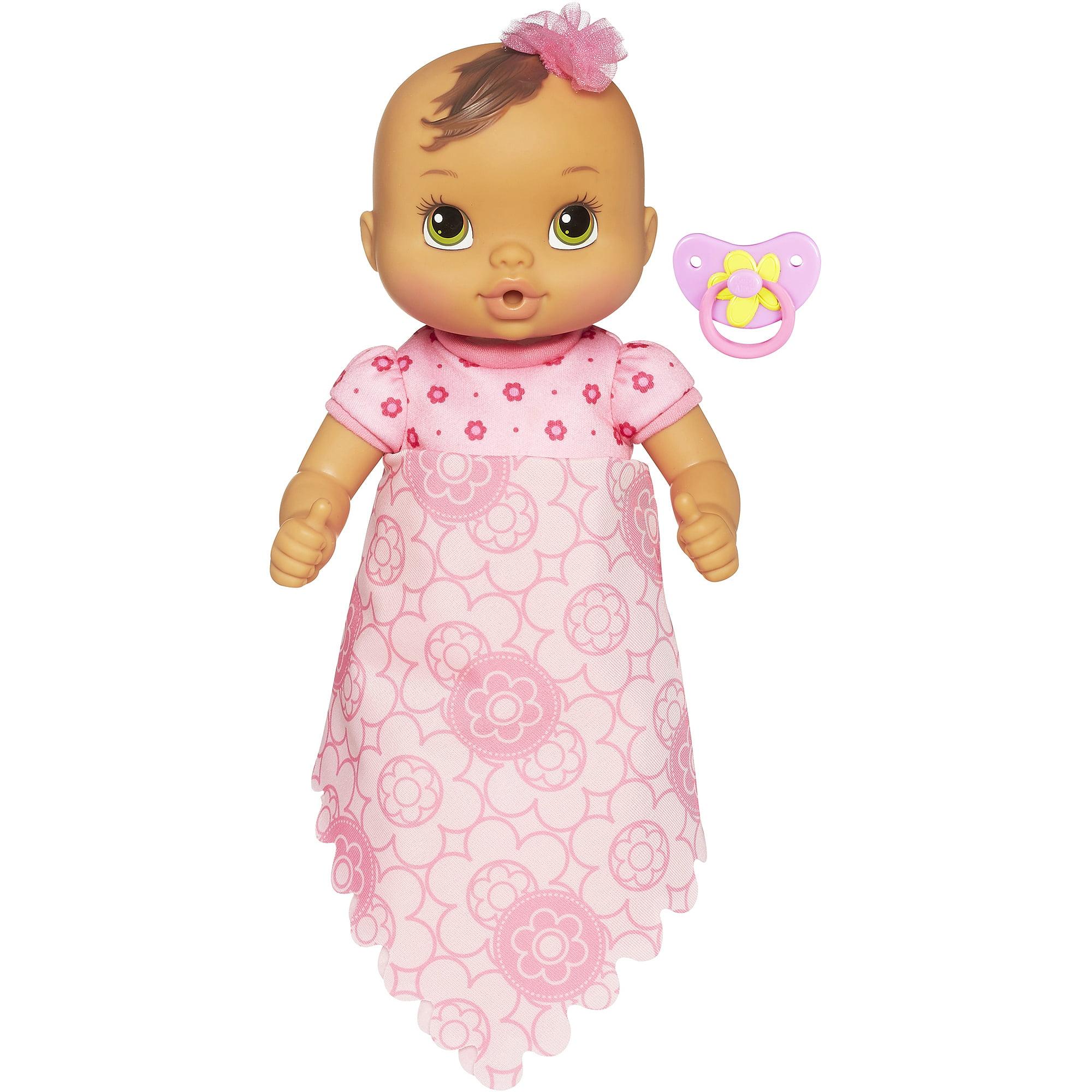 Baby Alive Luv N Snuggle Baby Brown Hair Walmart Com