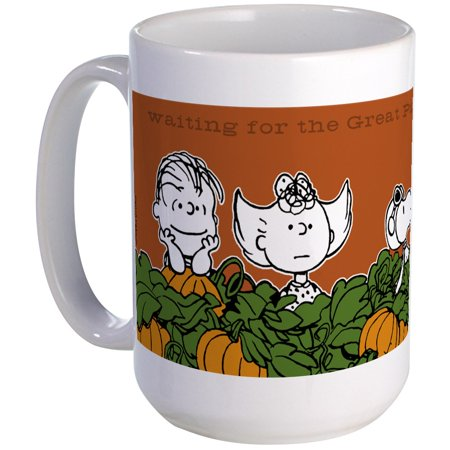CafePress - Halloween In The Pumpkin Patch Large Mug - 15 oz Ceramic Large Mug