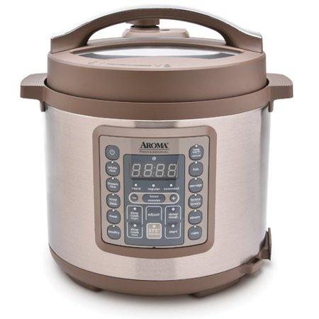 Aroma 6 Qt. Professional Digital Pressure Cooker (Aroma 2 Liter Digital Turbo Pressure Cooker)