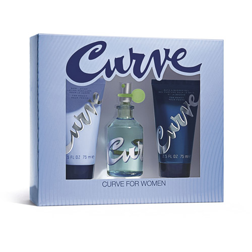 Curve for Women Gift Set, 3 pc