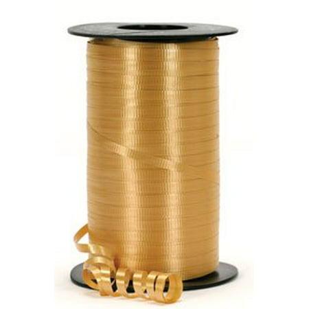 Gm Ribbon - Gold Curling Ribbon - Gold Balloon Ribbon - 500 Yards