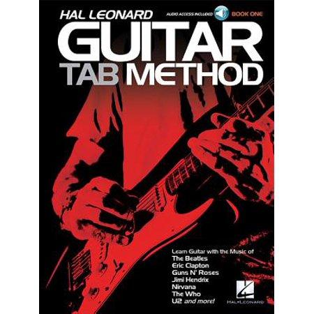 hal leonard guitar tab method book one. Black Bedroom Furniture Sets. Home Design Ideas