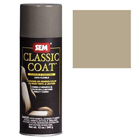 Sem Classic Coat Light Parchment Vinyl Leather Spray Paint Sem 17033