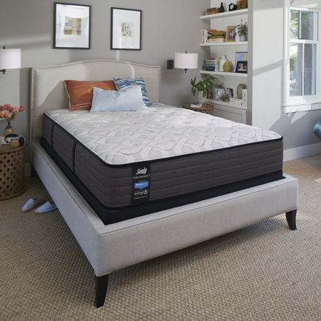 """Sealy Response Performance 12.5"""" Firm Tight Top Mattress - In Home White-Glove Delivery Included"""