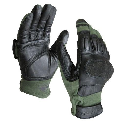 Kevlar Tactical Glove Color- Sage (Large)