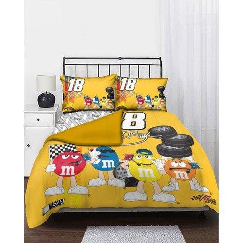 Northwest Co. Nascar Kyle Busch Full Bed in Bag Set