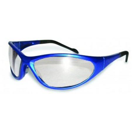 Colored Frame Safety Glasses : Safety Reflex Color Frame Safety Glasses With Clear Lens ...