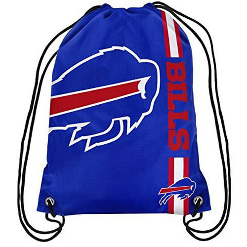 Buffalo Bills Official NFL Drawstring Backpack by Forever Collectibles 984933
