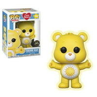 Funko Pop Care Bears Funshine Bear Chase Vinyl Figure