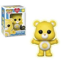 Funko Pop Care Bears Funshine Bear Chase Vinyl Figure