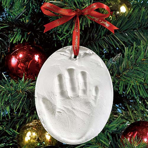 Personalized Handprint Christmas Ornament