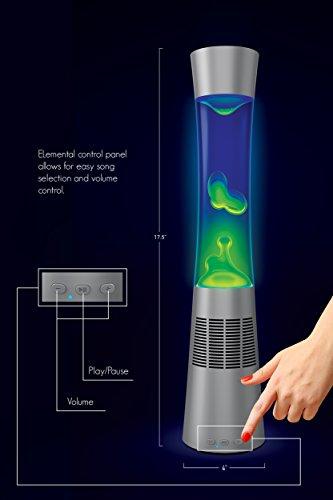 High Quality BT Lava Lamp Speaker BLUE/GREEN   Walmart.com
