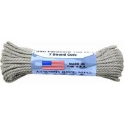 "Fury Paracord 550 lb 7 Strand Core, 1/8"" x 100'"