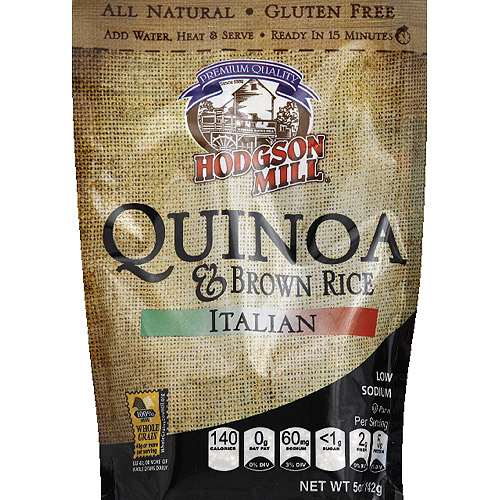 Hodgson Mill Italian Quinoa & Brown Rice Mix, 5 oz, (Pack of 6)