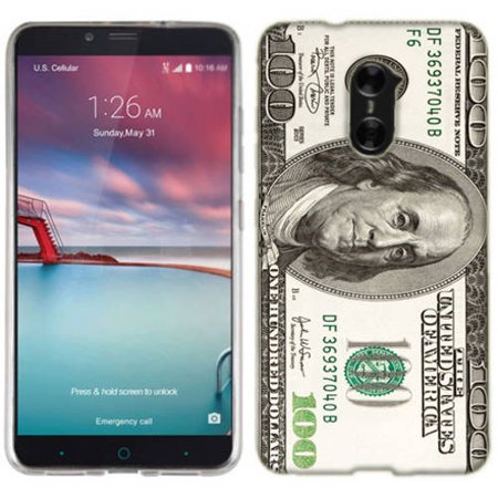 - Mundaze Hundred Dollar Phone Case Cover for ZTE Zmax Pro Max Duo 4G Kirk