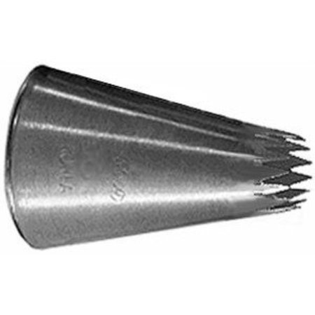 Ateco French Fine Cut Star #6B Decorating Pastry Tip Cut Rolled Tips